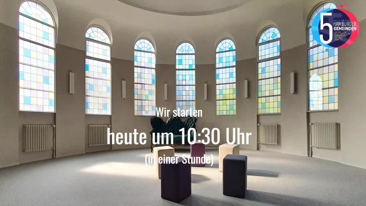 PfingstSonntag Gottesdienst (Aufzeichnung) der Innenstadtgemeinden (EFG) 31. Mai 2020