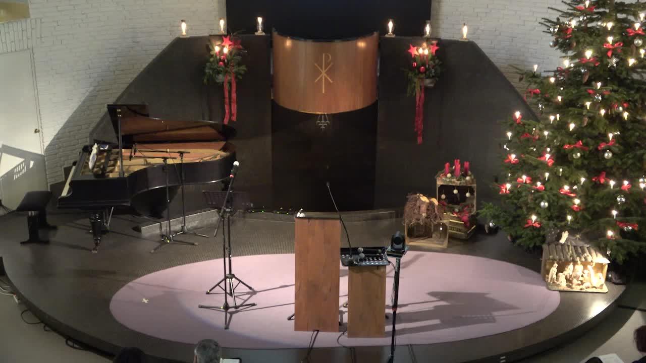 Gottesdienst am 27. Dezember 2020